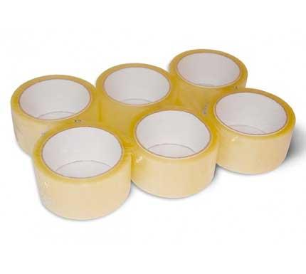 Lepící páska s akrylátovým lepidlem Transparentní